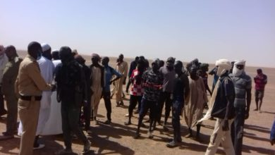 صورة مياه الوديان تحاصر (2) ألف معدن شمالي السودان