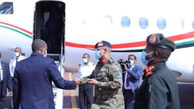 صورة السودان: رئيس مجلس السيادة الإنتقالي يزور تشاد