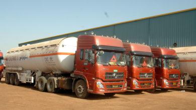 صورة 80 شحنة مواد بترولية تصل العاصمة السودانية وسط رقابة مشددة