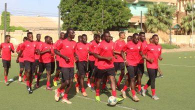صورة بمشاركة (26) لاعباً.. منتخب السودان يتدرب لمواجهة غانا