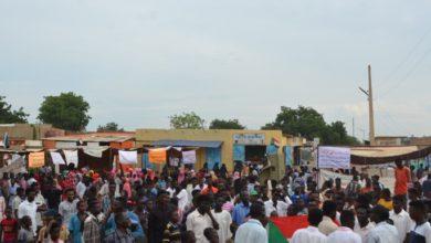 صورة قضايا نزع الأراضي تتصدر مطالب اعتصام القولد شمالي السودان