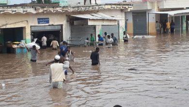 صورة والي سنار لـ(التغيير الإلكترونية): انهيار سنجة وخسائر الفيضانات تفوق إمكانيات الولاية