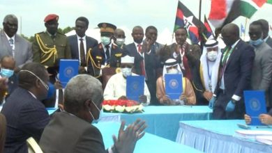صورة السودان توقيع السلام بين الجبهة الثورية والحكومة الانتقالية بجوبا