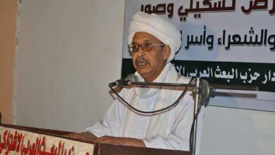 """صورة """"السنهوري"""" يهاجم التطبيع مع إسرائيل ويصفه بـ""""خطر"""" على أمن السودان"""