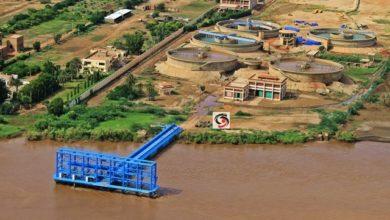 صورة توقعات بتوقف إمداد المياه عن العاصمة السودانية لمدة اسبوع