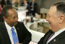 صورة الواشنطن بوست: مساعي امريكا لاعتراف السودان باسرائيل تتعثر وتضع الخرطوم في مأزق