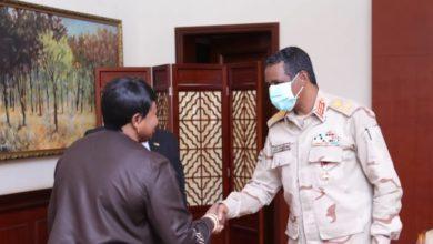 """صورة """"بنسودا"""" تشدد من الخرطوم على ضرورة تحقيق العدالة لضحايا دارفور"""