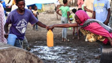 صورة مخيم أم راكوبة في السودان يتحول إلى مدينة صغيرة لاستقبال الإثيوبيين