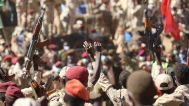 """صورة """"الجيش السوداني"""": أسلحة عصابات الشفتة الإثيوبية عتاد قوات نظامية"""