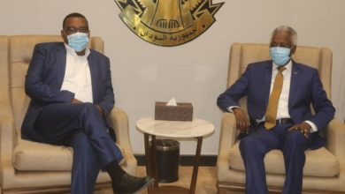 صورة مسؤولون إثيوبيون يصلون الخرطوم لمناقشة ترسيم الحدود