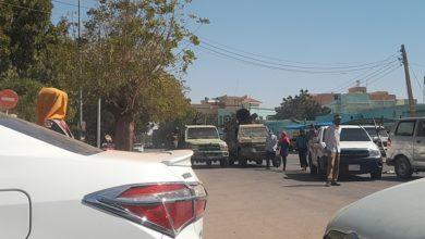 صورة عاجل: إغلاق جميع الطرق المؤدية إلى القيادة العامة بالخرطوم
