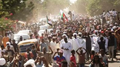 اعتصام الجنينة- غرب دارفور