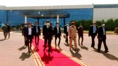 صورة (حميدتي) إلى جوبا للمشاركة في فعاليات معرض منتجات السودان