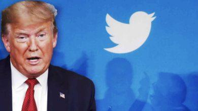 صورة حظر حسابات الرئيس الأمريكي على مواقع التواصل الاجتماعي