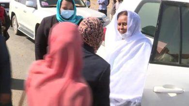 صورة السودان: «عائشة موسى» تقود وفداً إلى عطبرة لدعم «آمنة المكي»