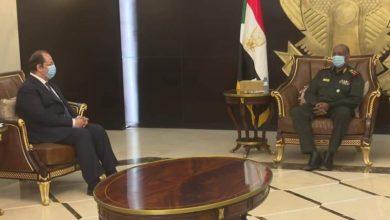 صورة مدير المخابرات المصري يزور الخرطوم لساعات ويلتقي قادة الحكم بالسودان
