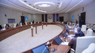 صورة إجتماع غير مسبوق لمجلس الوزراء السوداني