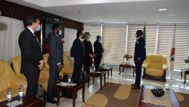 صورة وفد من «الجنائية» يصل الخرطوم ويبحث تعاون الحكومة مع المحكمة