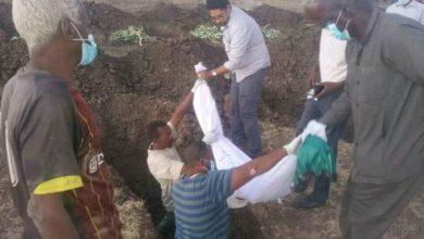 صورة السودان: دفن «68» جثة مجهولة الهوية بود مدني