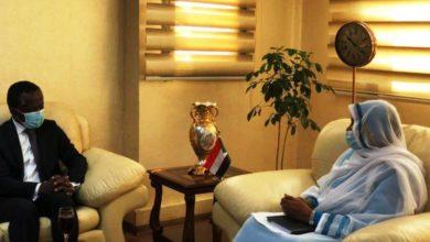 صورة وزيرة الخارجية: السودان حريص على سيادته في المنطقة وملتزم بالتفاوض والحوار