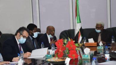 صورة مباحثات بين النيابة العامة والمحكمة الجنائية الدولية بالخرطوم