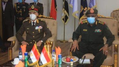 صورة الإعلان عن اتفاق عسكري بين السودان ومصر