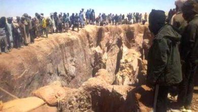 صورة السودان: وفاة «6» معدنين بإنهيار منجم في الشمالية