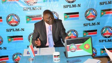 صورة (الشعبية): مكون في الحكومة السودانية يدق طبول الحرب