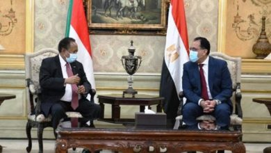 صورة حمدوك في القاهرة: توافق سوداني مصري حول «سد النهضة»