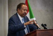 صورة «حمدوك» لقادة جهاز المخابرات السوداني: الإنتقال هذه المرة معقد وصعب