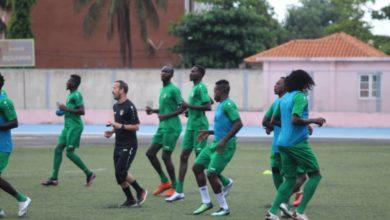 صورة ساوتومي: لاعبو المنتخب السوداني يرفضون إجراء مسوحات كورونا بمشفى حكومي