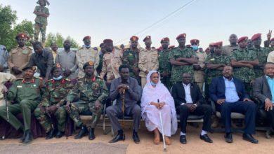 صورة قرار من البرهان بترحيل قوات مناوي لمقر عسكري شمالي الخرطوم