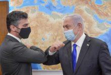 صورة سفير الإمارات بإسرائيل يشكر نتنياهو على حفاوة الترحيب
