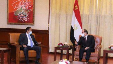 صورة زيارة مرتقبة لرئيس الوزراء السوداني إلى مصر