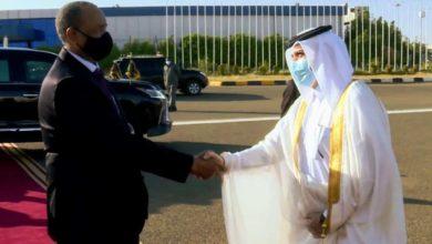 صورة رئيس مجلس السيادة السوداني يبدأ زيارة رسمية إلى قطر