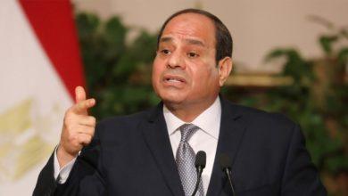 صورة السيسي يعلن حالة الطوارئ في مصر