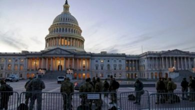 صورة تهديدات أمنية تغلق مبنى الكونغرس الأمريكي
