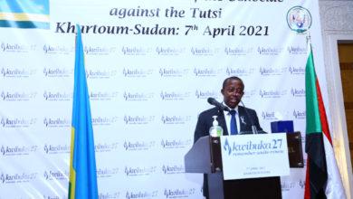 صورة السفارة الرواندية بالخرطوم تحيي الذكرى الـ «27» للإبادة الجماعية ضد «التوتسي»
