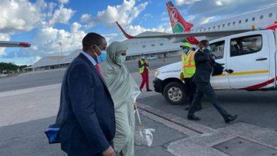 صورة وزيرة الخارجية السودانية تبدأ جولة افريقية بخصوص سد النهضة