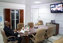 صورة السودان: اجتماع بين وزير الاتصالات ومسؤول رفيع بشركة مايكروسوفت