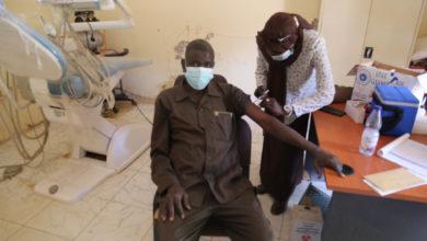 صورة إطلاق حملة توعوية لحث السودانيين على تلقي لقاح «كورونا»