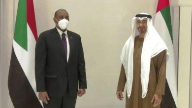 صورة البرهان يأمل في تواصل الدور الإماراتي الإيجابي تجاه السودان