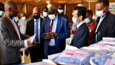 صورة اليابان تدعم كوادر التأمين الصحي السودانية بمعدات حماية شخصية من «كورونا»