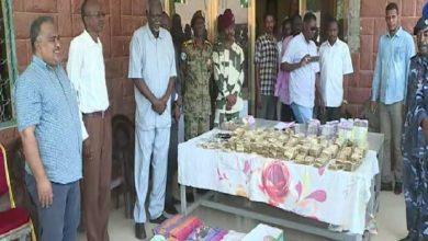 صورة الشرطة السودانية توقف أجنبي من دولة عربية ينشط في تزييف العملات المحلية