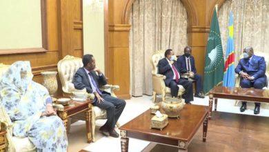 صورة «حمدوك» يؤكد رغبة السودان التوصل لصيغة توافقية حول ملف سد النهضة