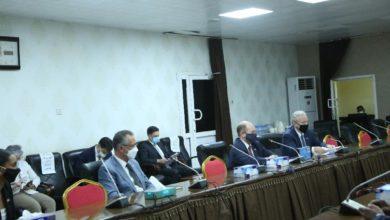 صورة اجتماع سوداني أمريكي بالخرطوم يناقش قضية سد النهضة الإثيوبي