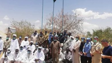 صورة تحويل أحد مقار (يوناميد) بشمال دارفور إلى مركز تدريب مهني