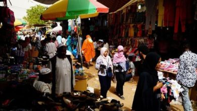 central bureau of statistics reports that inflation rate in Sudan is experiencing a slowdown compared to previous months