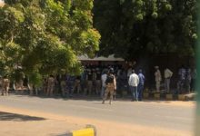 council of ministers' headquarters rushing attempt foiled by the sudanese police